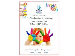 Term 1 Celebration of Learning