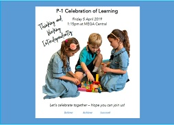 Term 1 P-1 Celebration of Learning
