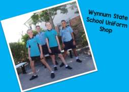 School holiday opening times for the Uniform shop