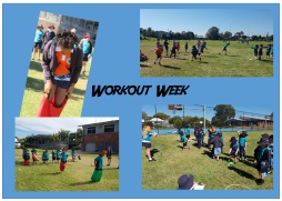 Student Council 'Work out week'